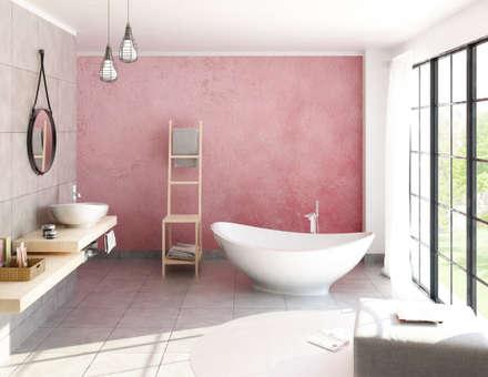 Salle de bain: Bagno in stile in stile Industriale di Elisabetta Goso >architect & 3d visualizer<