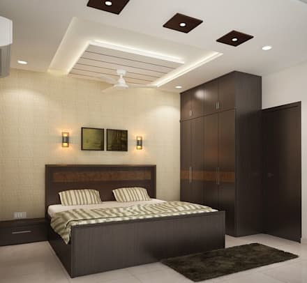 4 bedroom apartment at sjr watermark modern bedroom by ace interiors - Bedroom Interior Design Tips