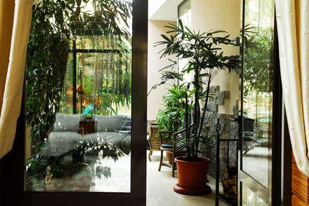 Загородный дом: Зимние сады в . Автор – Армен Мелконян