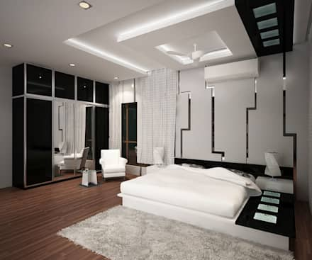 Bedroom interior design ideas inspiration pictures homify for Names of famous interior designers