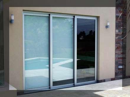 trabajos realizados puertas y ventanas de estilo moderno por arquiglass