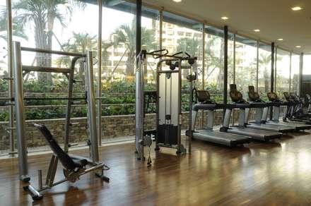 modern Gym by victorialosada