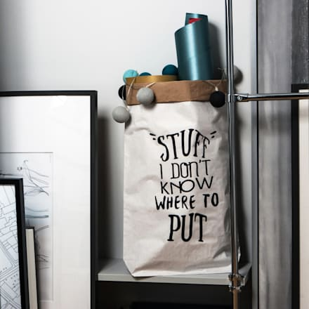 Aufbewahrungs-Ideen für Flur, Büro oder Gästezimmer:  Flur & Diele von Baltic Design Shop