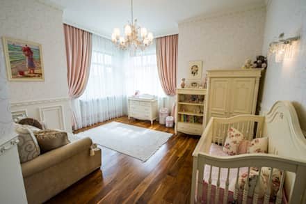 classic Nursery/kid's room by LUXER DESIGN