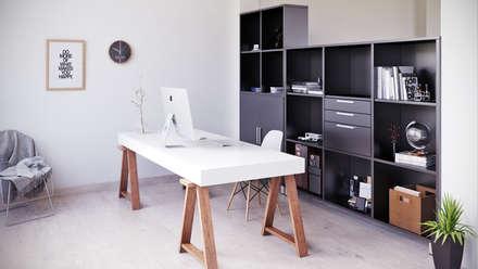 Home Office - SALAArchitects: Estudios y despachos de estilo moderno de SALAArchitects