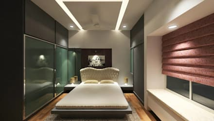 Interiors: modern Bedroom by MAVERICK Architects