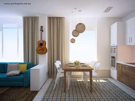 Квартира для молодой семьи: Столовые комнаты в . Автор – Tatyana Pichugina Design