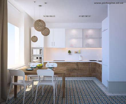 scandinavian Kitchen by Tatyana Pichugina Design