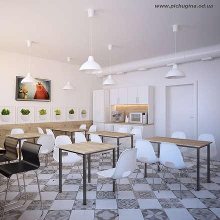 Офис завода: Офисные помещения в . Автор – Tatyana Pichugina Design