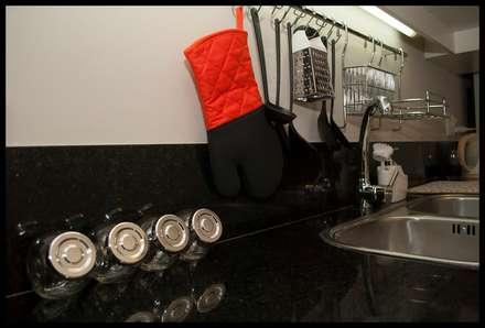 eclectic Kitchen by Diseñadora Lucia Casanova