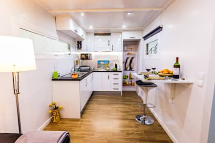 Modulow Twin: Cocinas de estilo moderno de MoDULoW