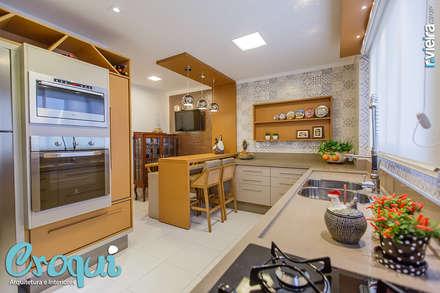 Dapur by Croqui Arquitetura e Interiores