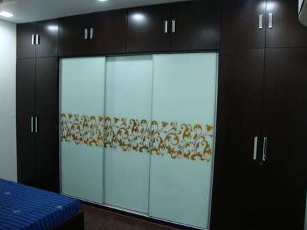 modern Bedroom by Livin interiors