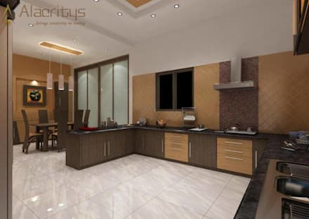 kitchen designs modern kitchen by alacritys architecture interior - Kitchen Interior Design Ideas