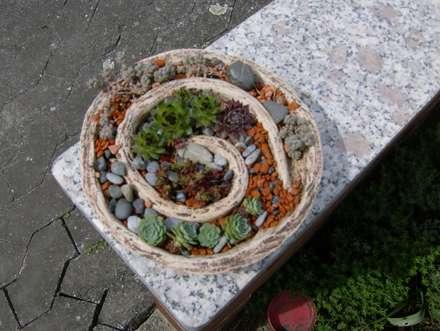 Dekoration: moderner Garten von rote_libelle