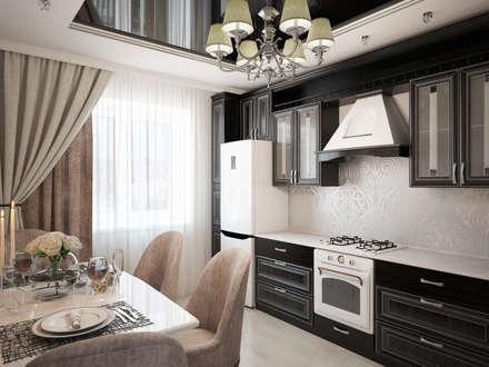 Дизайн-проект квартиры: Кухни в . Автор – Artstyle