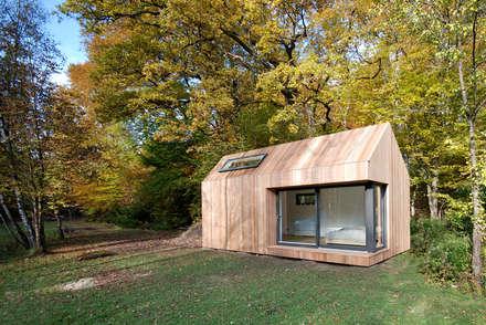 Estudios de cubiertas inclinadas 5: Casas de estilo moderno de ecospace españa