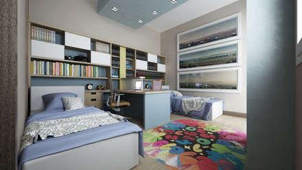 CASA AM: Stanza dei bambini in stile in stile Moderno di De Vivo Home Design