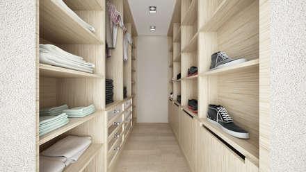 CASA AM: Spogliatoio in stile  di De Vivo Home Design