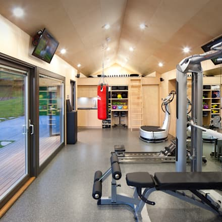 modern Gym by ecospace españa