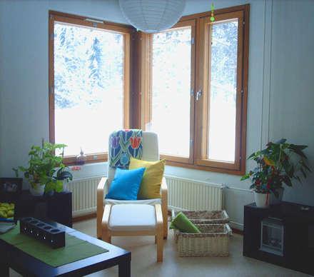 SALA DE ESTAR: Livings de estilo escandinavo por G7 Grupo Creativo