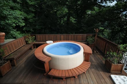 Softub whirlpools: modernes Spa von Softub