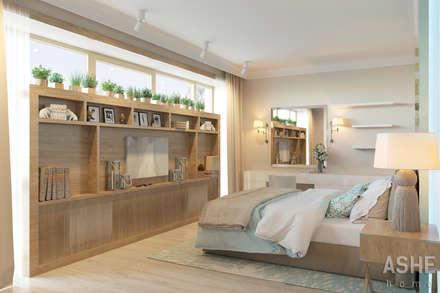 Лофт в Акбердино: Спальни в . Автор – Студия авторского дизайна ASHE Home