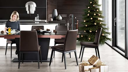 Christmas: minimalistic Dressing room by BoConcept Bristol