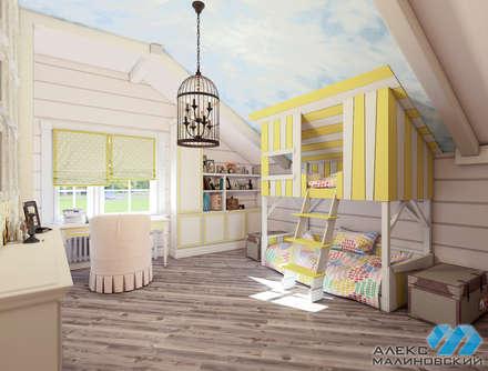industrial Nursery/kid's room by  Александр Малиновский