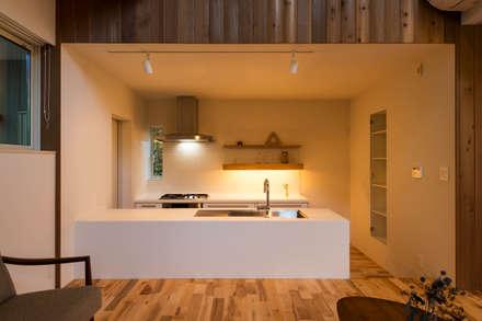 つなぐ家: エヌ スケッチが手掛けたキッチンです。