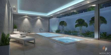 Villa Hemera: modern Spa by Miralbo Excellence