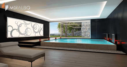 Villa Ciclopes: modern Spa by Miralbo Excellence