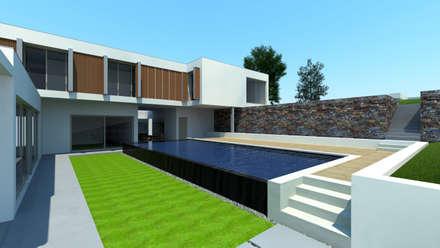 Kolam Renang by Miguel Ferreira Arquitectos