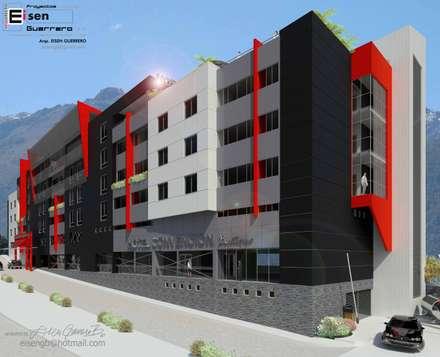 Hotel Convention boutique. 2013: Casas de estilo escandinavo por Eisen Arquitecto