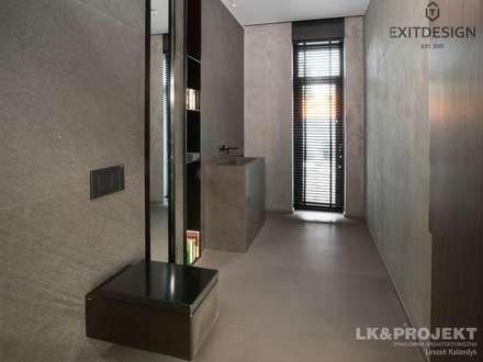 LK&1048 KORYTARZ: styl , w kategorii Korytarz, przedpokój i schody zaprojektowany przez LK & Projekt Sp. z o.o.