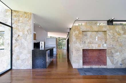 Casa La Lagartija: Salas de estilo moderno por alexandro velázquez