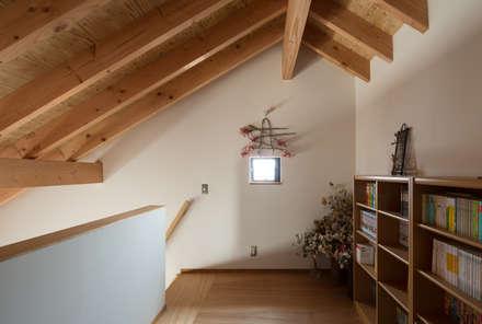 趣味スペース ロフト: 藤森大作建築設計事務所が手掛けた和室です。