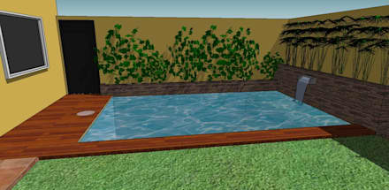 rustic Pool by CC|arquitectos