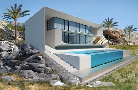House in Ibiza: Дома в . Автор –  Aleksandr Zhydkov Architect