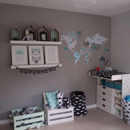 Dom jednorodzinny: styl , w kategorii Pokój dziecięcy zaprojektowany przez studio bonito