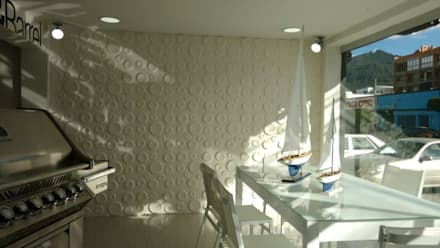 Panel 3d Wallart ref. Craters Proyectos e Innovacion, Pei-sas: Oficinas y Tiendas de estilo  por comercial79