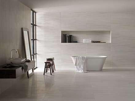 Badezimmer design badgestaltung  Skandinavische Badezimmer Einrichtungsideen und Bilder | homify