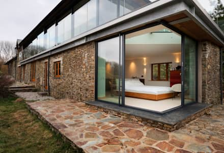 Down Barton, Devon: modern Houses by Trewin Design Architects