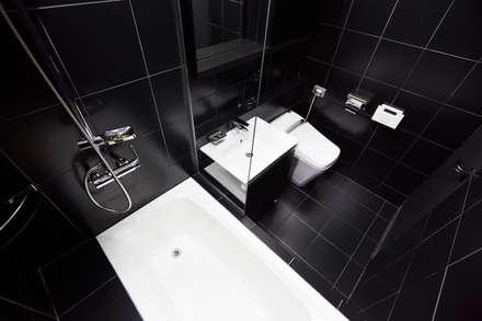 오류동 예성 라온펠리스 리모델링 (Before & After): DESIGNSTUDIO LIM_디자인스튜디오 림의  욕실