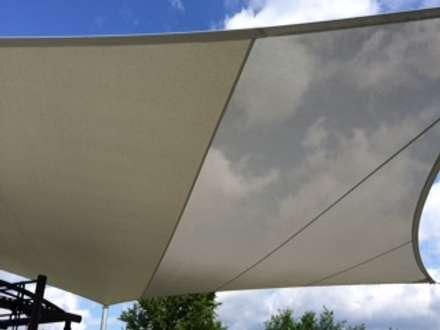 Sonnenschutz mal anders:  Stadien von Textile Sonnenschutz- Technik