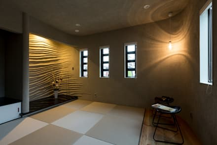 N邸新築: 株式会社 鳴尾工務店が手掛けた和室です。