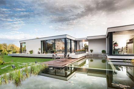 Einfamilienhaus in Brandenburg an der Havel - Außenaufnahme: moderne Häuser von SEHW Architektur GmbH