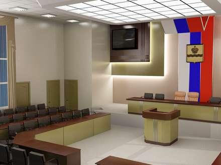 Conference Centres by АЛЕКСАНДР ЕЛАШИН. СТУДИЯ ДИЗАЙНА ЭЛИТНЫХ ИНТЕРЬЕРОВ.
