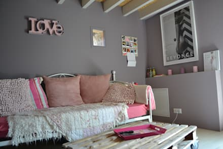 Teen bedroom by Courants Libres
