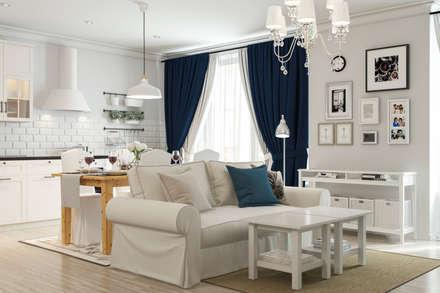 IKEA: Salones de estilo moderno de Artur Akopov